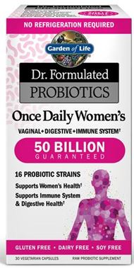 Picture of Garden of Life Dr. Formulated Probiotics Once Daily Women's Shelf Stable, 50 Billion, 30 vcaps