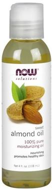 Picture of NOW Sweet Almond Oil, 4 fl oz