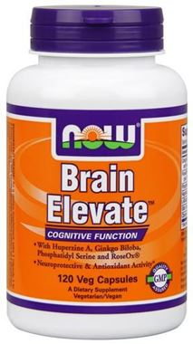 Picture of NOW Brain Elevate, 120 vcaps