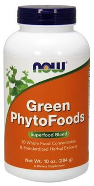 Picture of NOW Green Phytofoods, 10 oz  powder