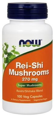 Picture of NOW Rei-Shi Mushrooms, 100 vcaps