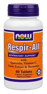 Picture of NOW Respir-All, 60 tabs