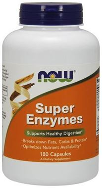 Picture of NOW Super Enzymes, 180 caps