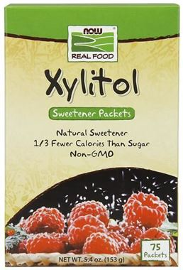 Picture of NOW Xylitol Sweetener Packets, 5.4 oz