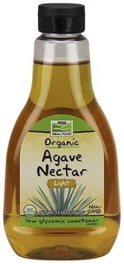 Picture of NOW Organic Light Agave Nectar, 23.28 oz.