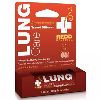 Picture of Redd Remedies Lung Care Aromatherapy Travel Diffuser, 1.5 ml