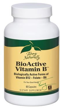 Picture of EuroPharma Terry Naturally BioActive Vitamin B, 60 caps