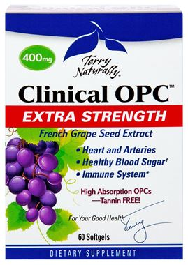 Picture of EuroPharma Terry Naturally Clinical OPC, Extra Strength, 60 softgels