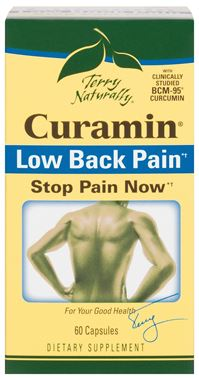 Picture of EuroPharma Terry Naturally Curamin Low Back Pain, 60 caps