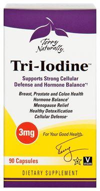 Picture of EuroPharma Terry Naturally Tri-Iodine, 3 mg, 90 caps
