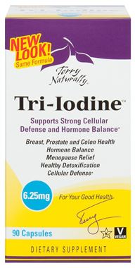 Picture of EuroPharma Terry Naturally Tri-Iodine, 6.25 mg, 90 caps