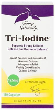 Picture of EuroPharma Terry Naturally Tri-Iodine, 12.5 mg, 180 Capsules