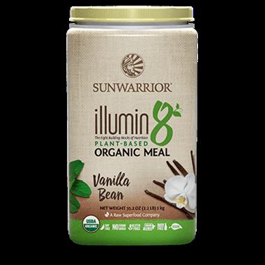 Picture of Sun Warrior Illumin8 Organic Meal, Vanilla Bean, 2.2 lbs