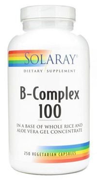Picture of Solaray B-Complex, 100 mg, 250 vcaps