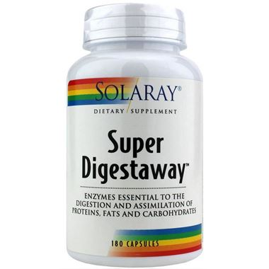 Picture of Solaray Super Digestaway, 180 caps