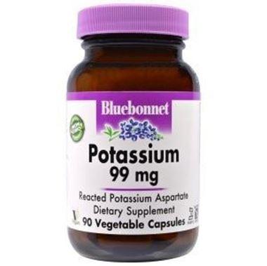 Picture of Bluebonnet Potassium, 99 mg, 90 vcaps
