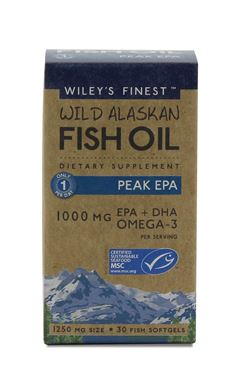 Picture of Wiley's Finest Peak EPA, 30 softgels