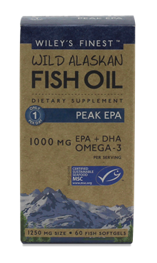 Picture of Wiley's Finest Peak EPA, 60 softgels