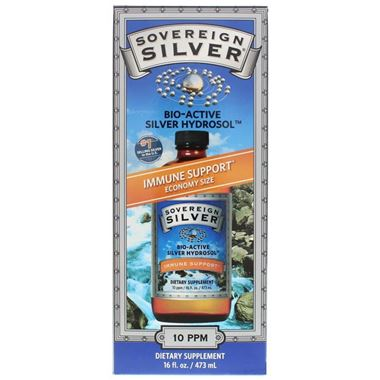 Picture of Sovereign Silver Immune Support Economy Size, 16 fl oz