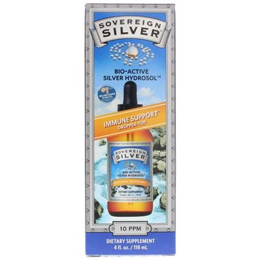 Picture of Sovereign Silver Immune Support Dropper Top, 4 fl oz