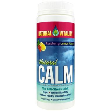 Picture of Natural Vitality Natural Calm, Raspberry-Lemon Flavor, 8 oz