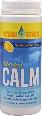 Picture of Natural Vitality Natural Calm, Sweet Lemon Flavor, 8 oz
