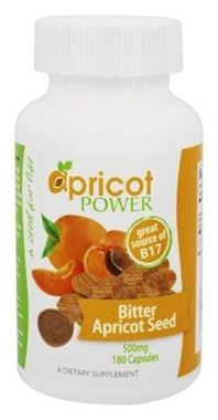 Picture of Apricot Power Bitter Apricot Seed, 500 mg, 180 Caps