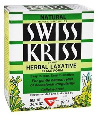 Picture of Natural Swiss Kriss Herbal Laxative Flakes, 3.25 oz