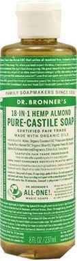 Picture of Dr. Bronner's Pure-Castile Soap, Hemp Almond, 8 fl oz