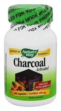 Picture of Nature's Way Activated Charcoal, 100 caps
