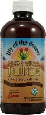 Picture of Lily Of The Desert Aloe Vera Juice, Inner Fillet, 32 fl oz