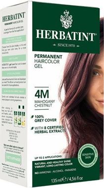 Picture of Herbatint Permanent Haircolor Gel, 4M Mahogany Chestnut, 4.56 fl oz