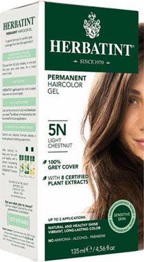 Picture of Herbatint Permanent Haircolor Gel, 5N Light Chestnut, 4.56 fl oz