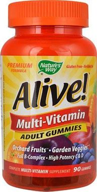 Picture of Nature's Way Alive, Multivitamin Adult Gummies, 90 chews