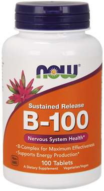 Picture of NOW Sustained Release B-100, 100 tabs