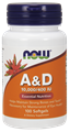 Picture of NOW A & D, 10,000/400, 100 softgels