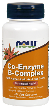 Picture of NOW Co-Enzyme B-Complex, 60 vcaps