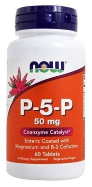Picture of NOW P-5-P,  50 mg, 60 tabs