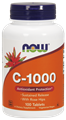 Picture of NOW C-1000 Sustained Release With Rose Hips, 100 tabs