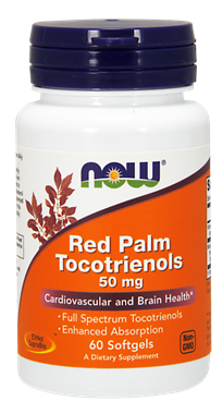 Picture of NOW Red Palm Tocotrienols, 60 softgels