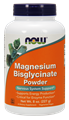 Picture of NOW Magnesium Bisglycinate Powder, 250 mg, 8 oz