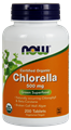 Picture of NOW Certified Organic Chlorella, 200 tabs
