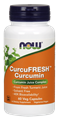 Picture of NOW CurcuFRESH Curcumin, 60 vcaps