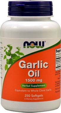 Picture of NOW Garlic Oil, 250 softgels