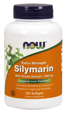 Picture of NOW Extra Strength Silymarin, 120 softgels