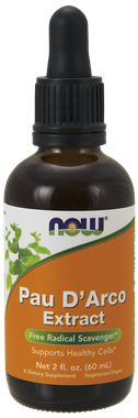 Picture of NOW Pau D'Arco Extract, 2 fl oz