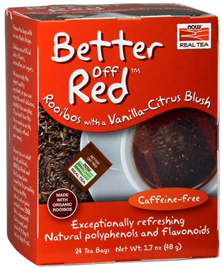 Picture of NOW Better Off Red Rooibos Tea, 24 tea bags