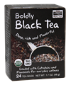 Picture of NOW Boldly Black Tea, 24 tea bags
