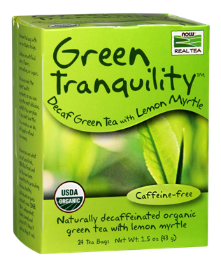 Picture of NOW Green Tranquility Tea, 24 tea bags
