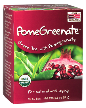 Picture of NOW PomeGreenate Tea, 24 tea bags